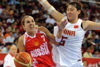 Женская сборная России по баскетболу завоевала бронзовые медали Олимпиады в Пекине, победив в матче за третье место команду Китая. 2008 г.