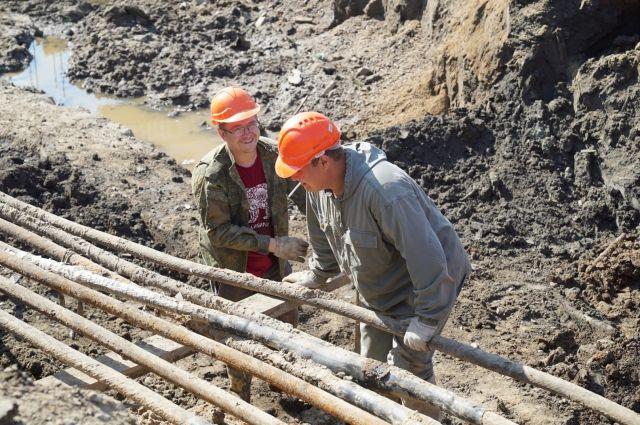 Всего в этом году в Хабаровске будет восстановлено около десяти километров магистральных сетей.