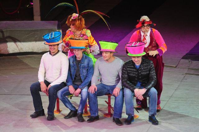 Шоу Гии Эрадзе проходит в Пермском цирке.
