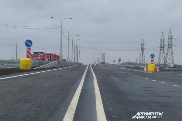 Первый пусковой комплекс трассы «Обход Оренбурга» открыт.