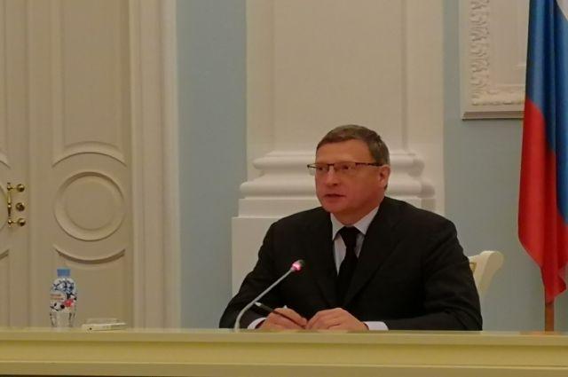 Александр Бурков в конце октября выступит с бюджетным посланием