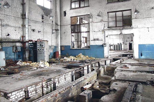 В корпусах бывшего завода имени Коминтерна