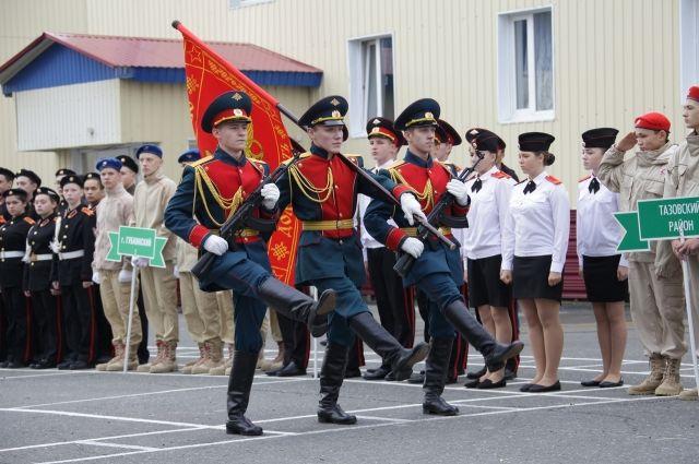 В Ноябрьске проходит окружное первенство по военно-прикладным видам спорта