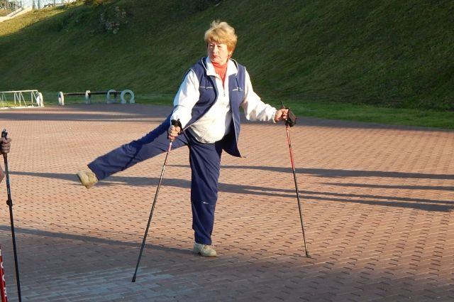 Поклонники скандинавской ходьбы соберутся 29 сентября.