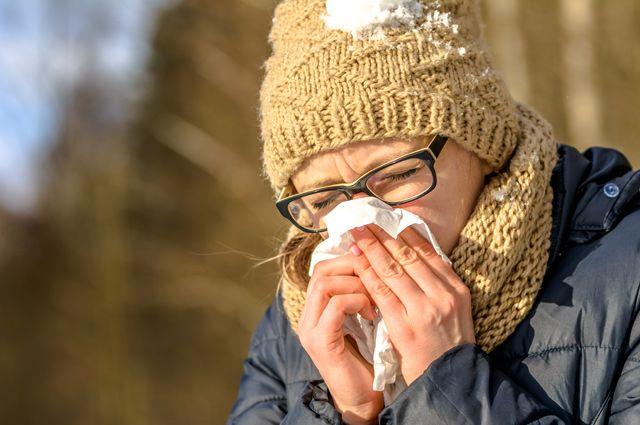 Сопливые холода. Почему на морозе течет из носа?