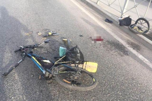 30-летний водитель автомобиля BMW сбил 61-летнего велосипедиста, который ехал во встречном направлении.
