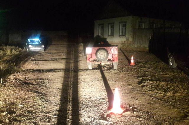 В Оренбургском районе на месте ДТП скончался мотоциклист.
