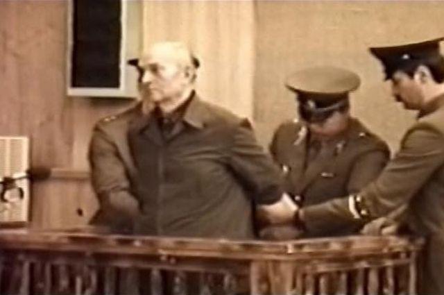 Дмитрий Поляков в зале суда.
