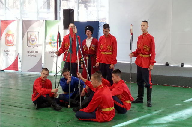 Новоуренгойские кадеты представляют Ямал конкурсе казачьих классов УрФО