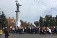 В Кривом Роге открыли самый высокий в Украине памятник Владимиру Великому