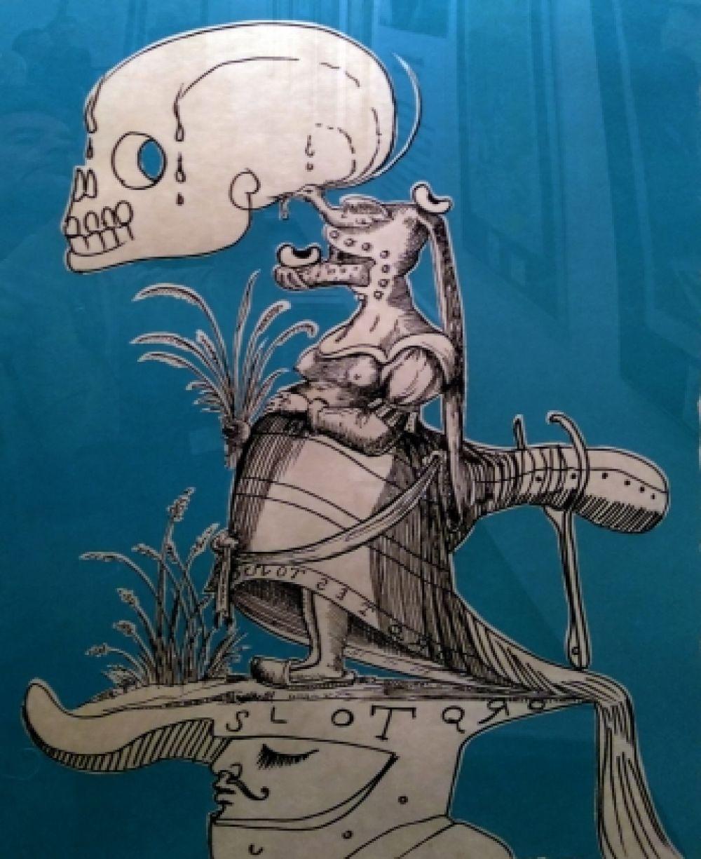Выставка оригинальных работ Сальвадора Дали.