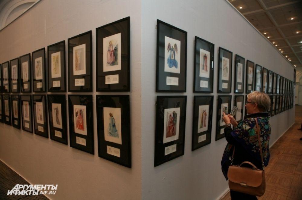 Выставка уже побывала в Москве, Астрахани и Красноярске, где побила рекорды посещаемости.