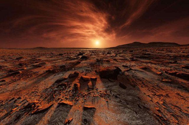 Ученые нашли новое доказательство, что Марс - обитаемая планета