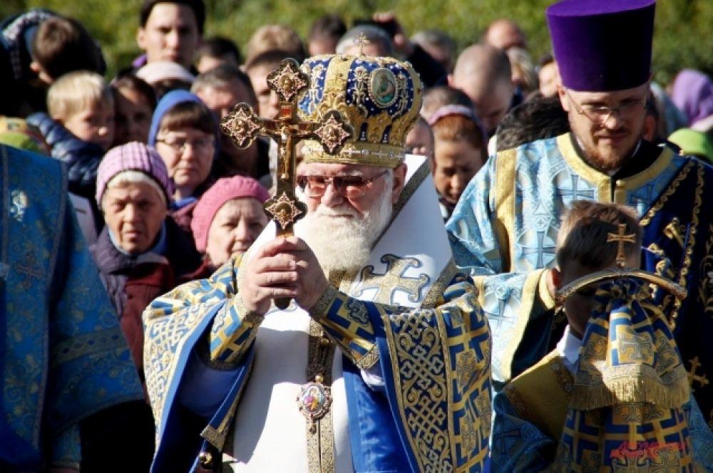 Открытие бюста приурочено к 100-летию со дня канонизации сибирского миссионера.