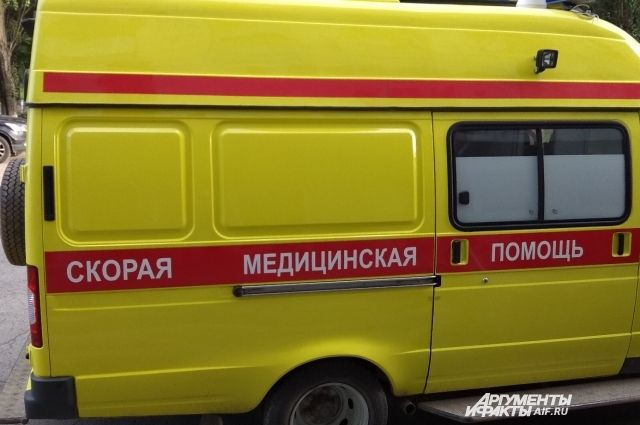 Пострадавшую на Скорой доставили в краевую клиническую больницу.