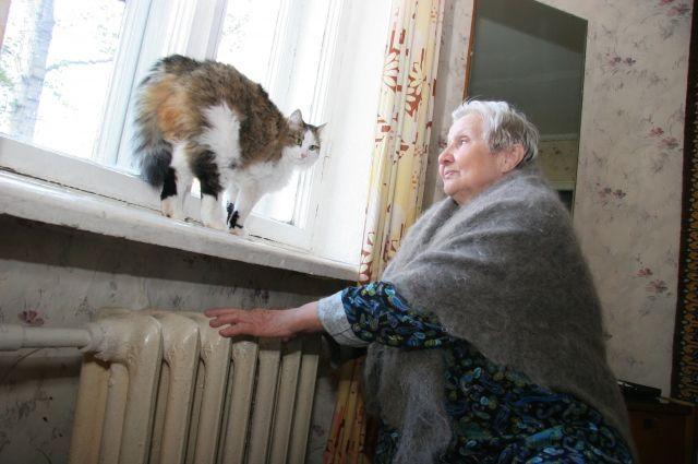 В Омске постепенно подключают жилые дома к отоплению.
