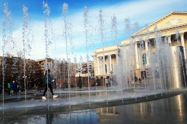В Тюмени закроют фонтаны на зиму
