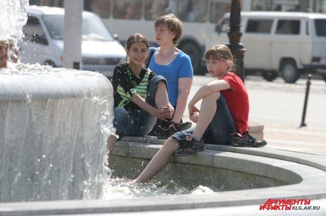 В Калининграде до весны отключают 12 городских фонтанов.