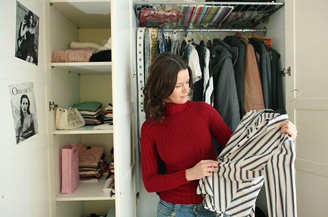 Как навести порядок в шкафу? 13 полезных советов