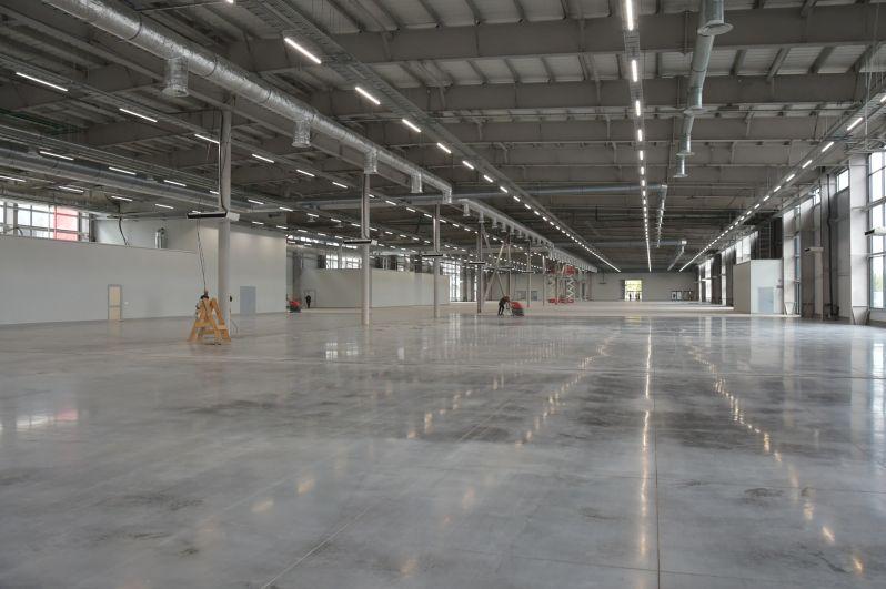 Здесь будут помимо выставочных павильонов соревновательная зона для состязаний WorldSkills, галереи и многофункциональные залы.