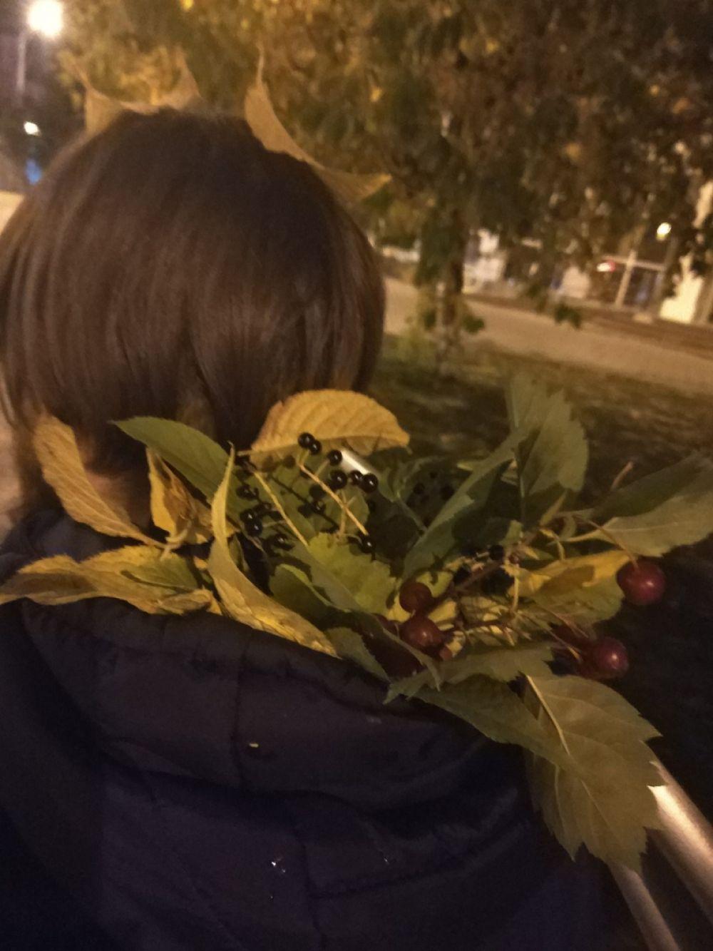 Осенние ягоды.