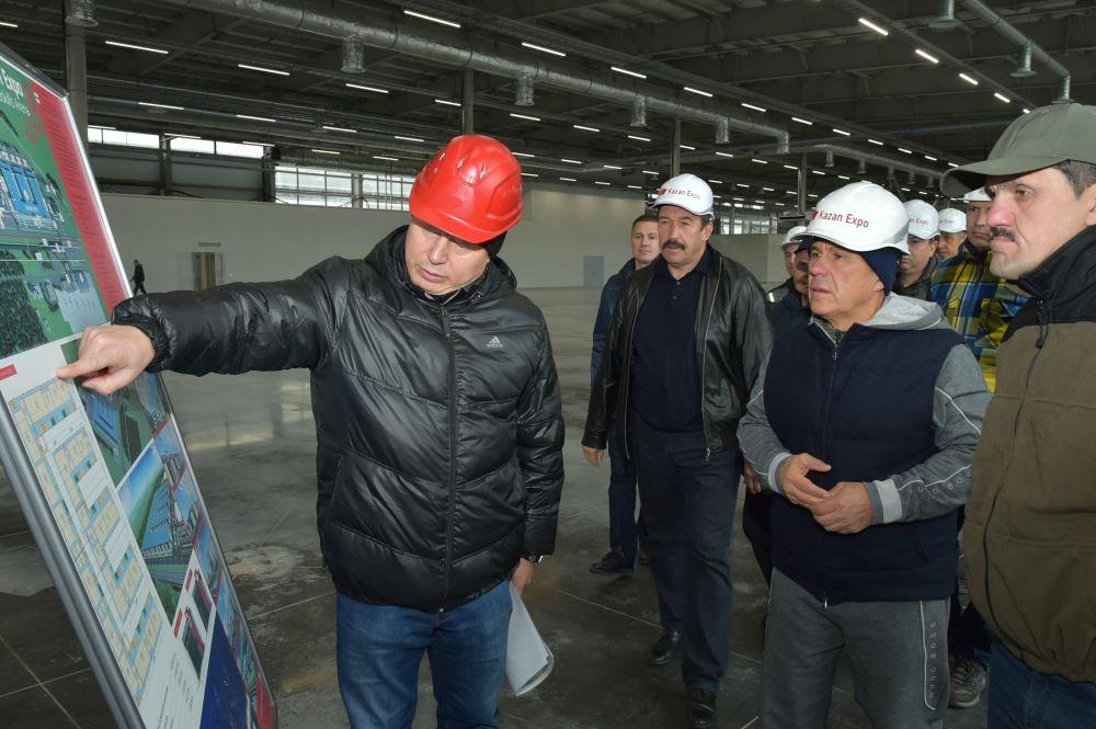 30 сентября с ходом работ ознакомился президент Татарстана Рустам Минниханов.