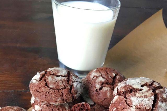 Рецепт шоколадного печенья.