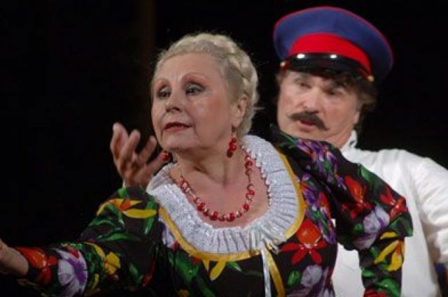 В Омск артистка приехала в 1981 году.