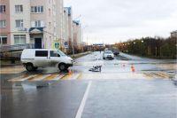 На Ямале пострадали в ДТП пострадали мотоциклист и юный велосипедист