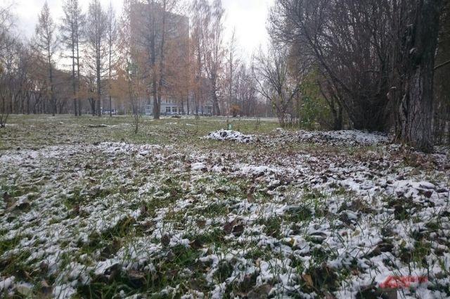 Октябрь будет холодным.