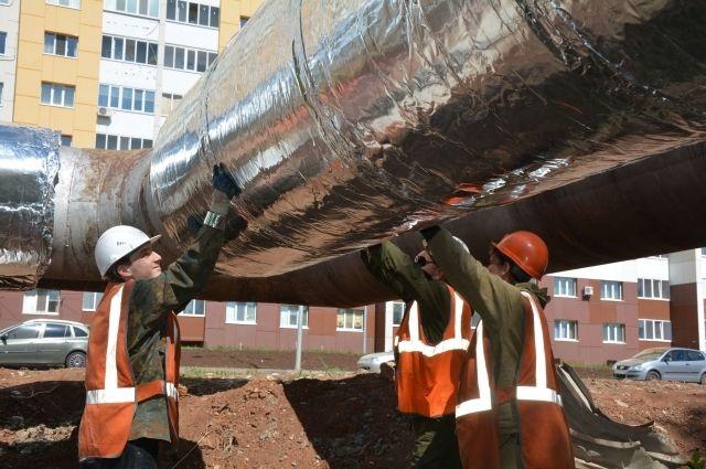 В Оренбурге за два года заменена изоляция на 27 км магистральных тепловых сетей.