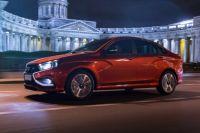 Тест-драйв LADA Vesta Sport прошел в Петербурге.