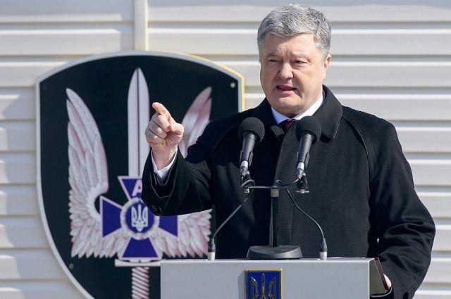 Порошенко в США заявил об угрозе бомбардировок украинской территории.