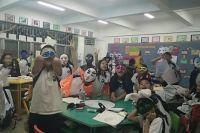 Хэллоуин в китайской школе.