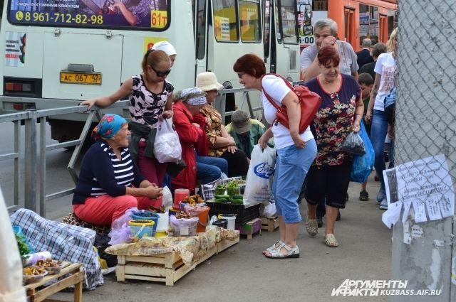 Должностные лица посетили продавцов, которые торгуют