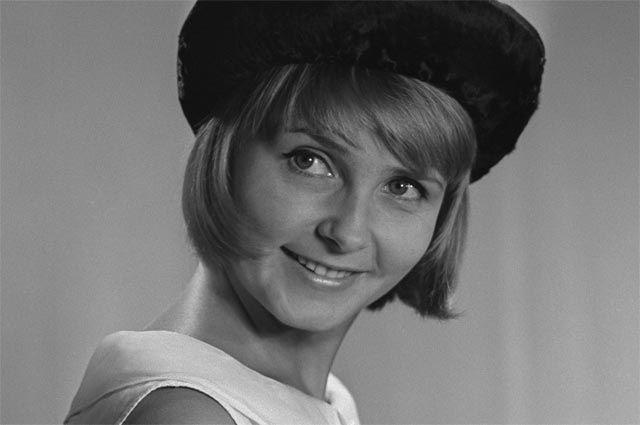 Людмила Крылова. 1966 г.
