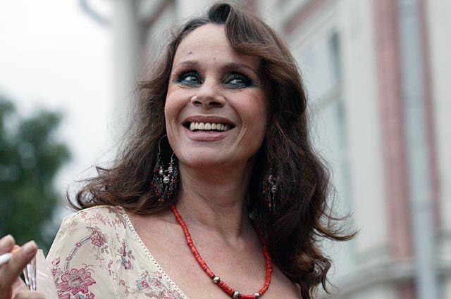 Актриса театра и кино Любовь Полищук.