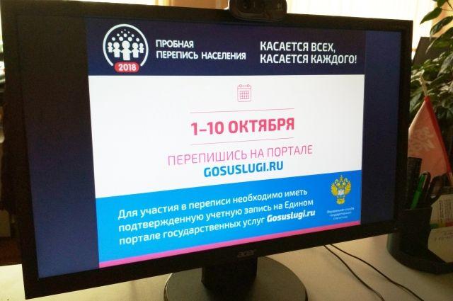 Ожидается, что в интернет-переписи примут участие 20% жителей Омского региона.
