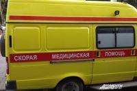 Четверо человек пострадали при столкновении трёх автомобилей.