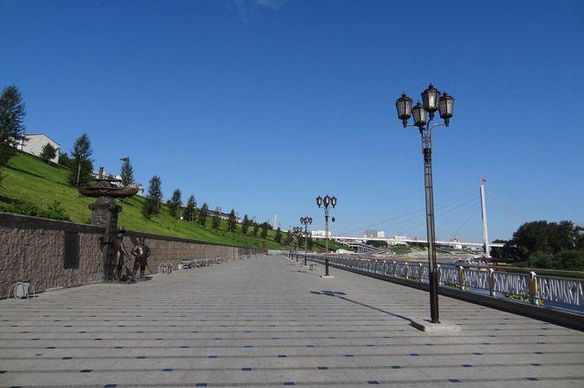 Парковка на тюменской набережной станет платной