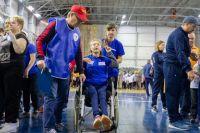 Мероприятие провели для семей с детьми-инвалидами в спортивном комплексе имени В.П. Сухарева.