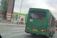 Тюменцы сообщили в ГИБДД о водителе автобуса, который ехал по «встречке»
