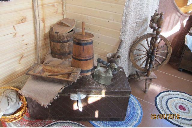 В музее воссоздана обычная для тех лет казачья хата