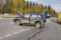 Серьёзных травм в аварии никто не получил.