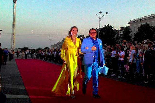 Церемония открытия кинофестиваля BRIDGE of ARTS в 2017 году
