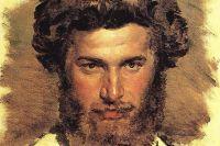 Архип Куинджи. Портрет работы В. М. Васнецова, 1869 г.