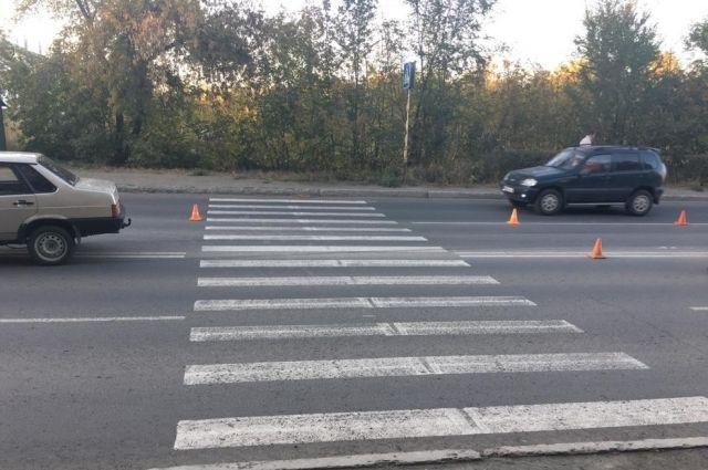 В Новотроицке в ДТП пострадала восьмилетняя девочка.