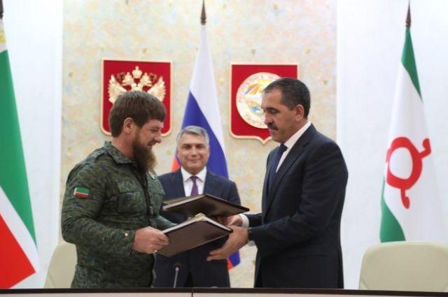 Границу между Чечнёй и Ингушетией окончательно установят за четыре месяца.