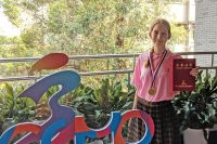 Гимназистка Анна Седова привезла из Китая золотую медаль престижной математической олимпиады.