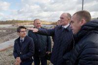Губернатор Борис Дубровский лично проверил, как работает полигон в Полетаево.